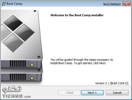طريقة تثبيت تعريفات الويندوز على الماك boot camp