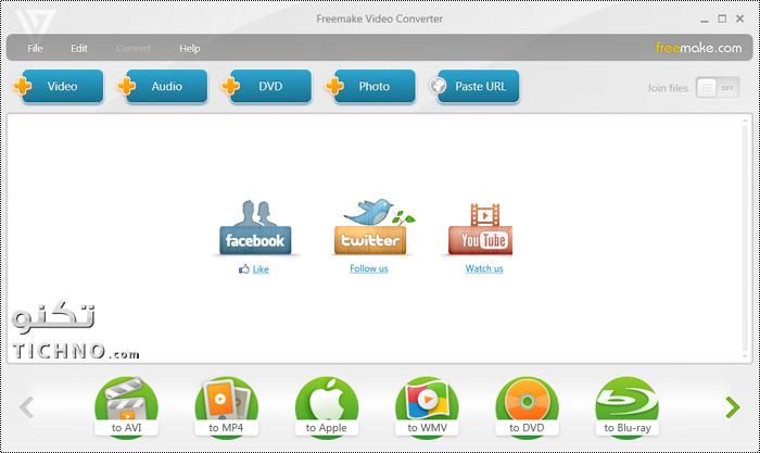 شرح برنامج تحويل الفيديو للايفون والايباد