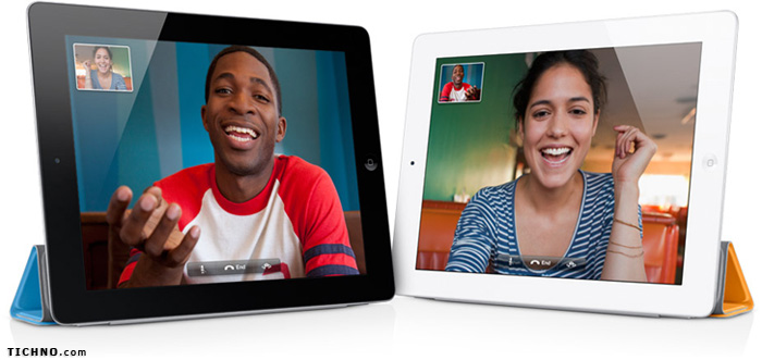 الفيس تايم في الآي باد 2 - iPad 2 facetime