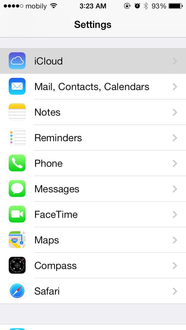 طريقة توقف حذف جهات الاتصال من الايفون بعد التحديث للاصدار ٧